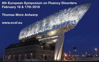 ECSF 2018 – Symposium européen sur les troubles de la fluence